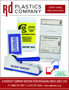 RD Plastics Company - Meeting your Packaging Needs Since 1975 (as seen in the 2017 Platinum Pages Buyer's Guide: rxplatinumpages.com).