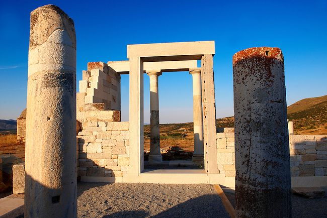 TRAVEL'IN GREECE | Greek Temple of Dimitras, Naxos, South Aegean, Greece