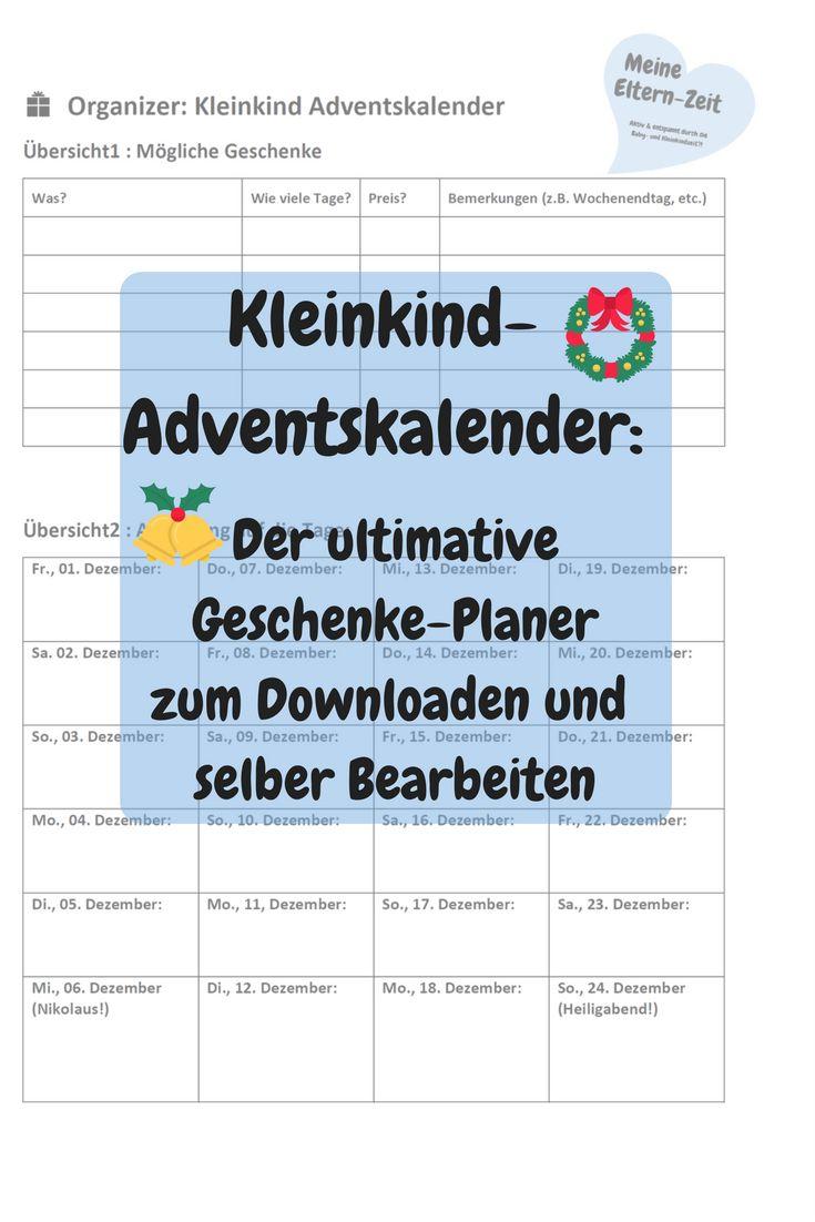 Schöne, kreative & preiswerte Geschenkideen für den Kleinkind-Adventskalender: Aktivitäten, Spiele, Zubehör zum Baden, Basteln & Bauen #Adventskalender #Kleinkind #Geschenkideen