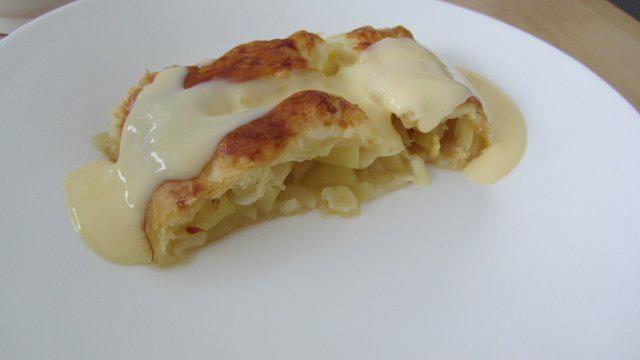 Das perfekte Apfelstrudel aus Blätterteig-Rezept mit Bild und einfacher Schritt-für-Schritt-Anleitung: Die Äpfel schälen und entkernen. Dann in…
