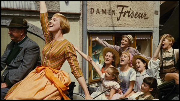 Screenshot from the 1965 movie 'Sound of Music'.