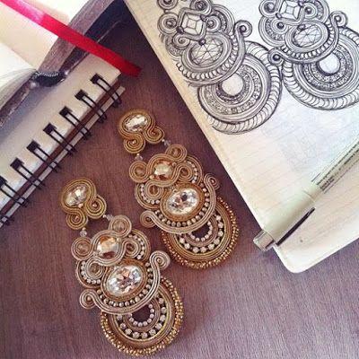 Adel's Laboratory: goddess- statement earrings-