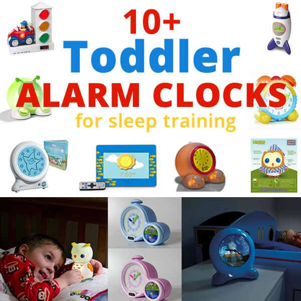 Is your toddler having problems sleeping or staying in bed? Check out these toddler alarm clocks, great for sleep training.