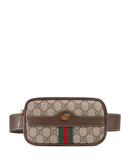 590fde1ab092 Ophidia GG Supreme Canvas Belt Bag