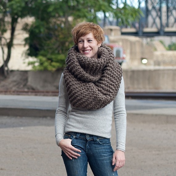 Awesome giant cowl!