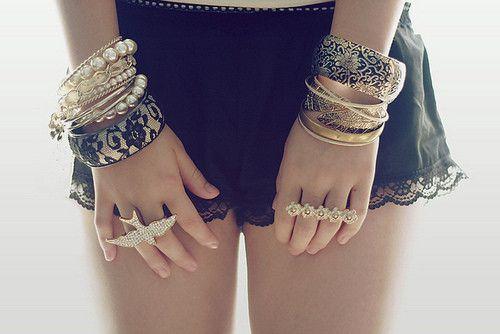 pulseras & anillos :)