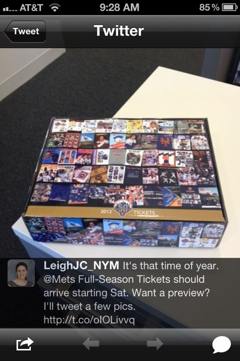 mets season ticket holders gift