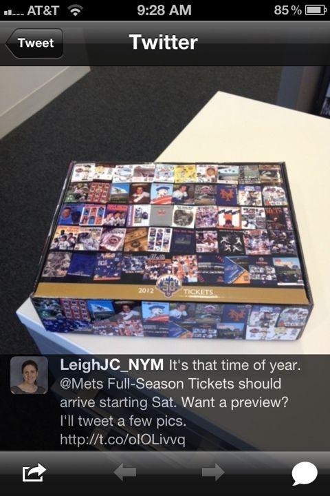 mets season ticket holders gift