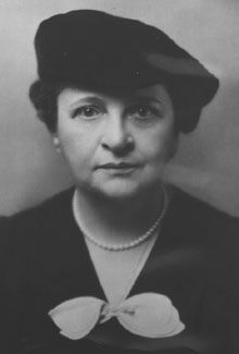 Frances Perkins was the first female cabinet member and served as the Secretary of Labor under President FDR. She helped create the Social Security Act.