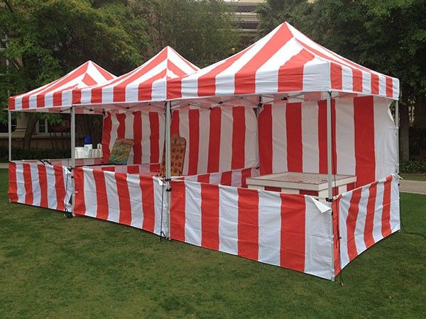 Impact Canopy 8 x 8 Carnival Canopy Popcorn Cotton Candy Vending Tent + 3 Sideskirts and 1 Sidewall http://www.customcanopy.com/impact-canopy-8-x-8-carnival-canopy-popcorn-cotton-candy-vending-tent-3-sideskirts.html