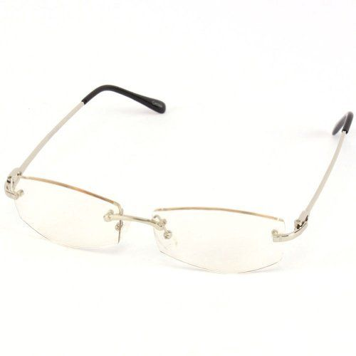 Rimless Glasses With Clear Bridge : 17 Best images about Rimless Frames on Pinterest Metal ...