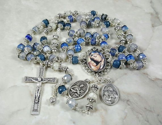 Fertility,Healthy Pregnancy/Delivery St Gerard, S Anne Rosary  https://www.etsy.com/listing/261396158/pregnancy-boy-healthy-delivery