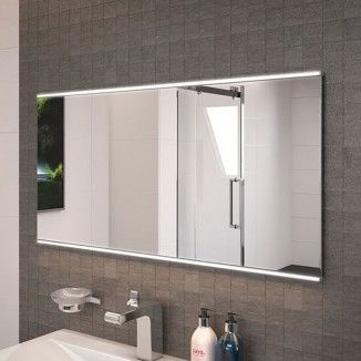 Dream 100cm Illuminated Mirror. A stunning 500 x 1000mm bathroom mirror powered by 15w LED lights and operated by a motion sensor switch. This exquisite LED mirror is the perfect finishing touch to any modern bathroom.    View This Product's Installat