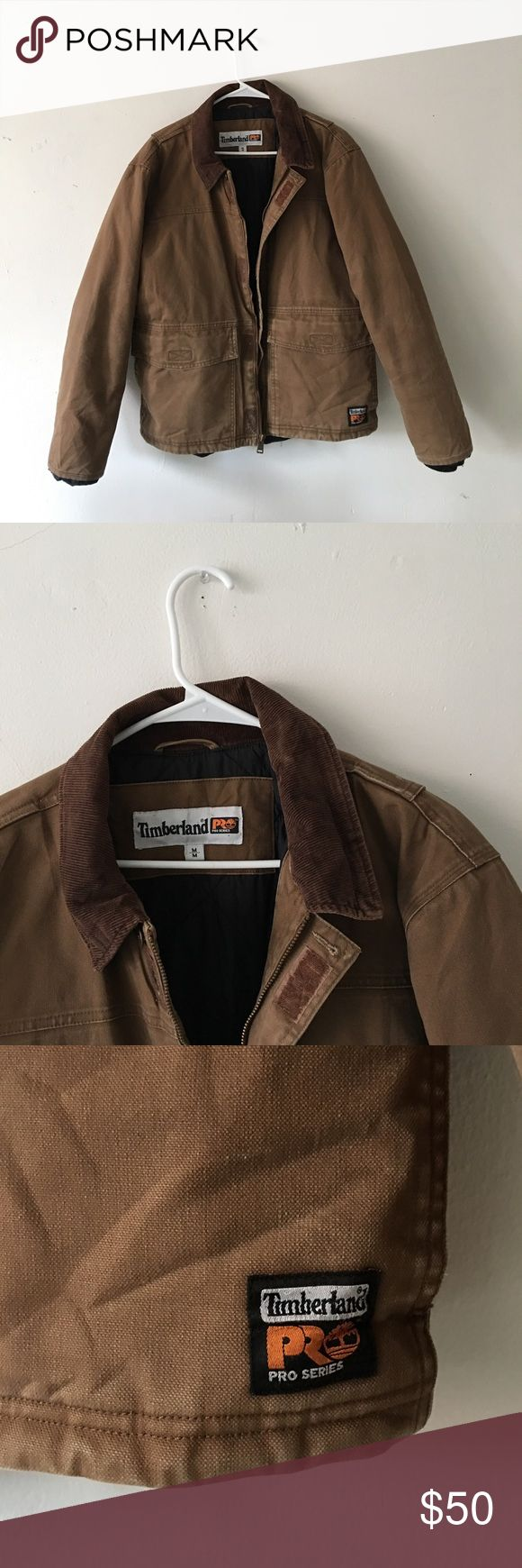 Brown Timberland Coat thick Timberland winter jacket. perfectly fine, bought it used, just never wore it. definitely will keep you warm. don't remember what I bought it for, but willing to negotiate the price. Timberland Jackets & Coats