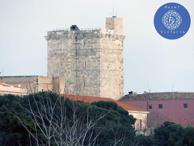 La Torre dell'Elefante - http://www.hotelbjvittoria.it   #monumenti #torri #Cagliari #Sardegna