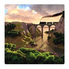 Híd falikép