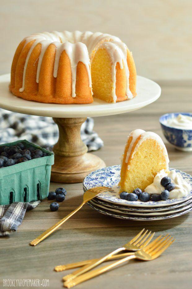 Simple Buttermilk Bundt Cake Recipe Buttermilk Pound Cake Dessert Recipes Food