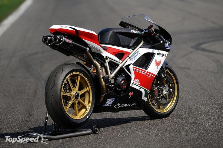 $144,000 Ducati 1198S by Red Fenix