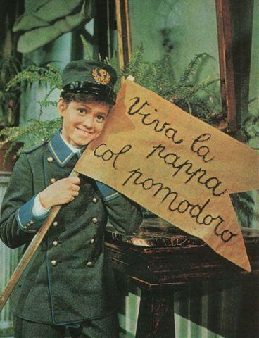 ll giornalino di Gian Burrasca fu trasmesso dalla RAI, in otto puntate, il sabato, in prima serata (dalle 21,05 alle 22 circa), dal 19 dicembre 1964 al 6 febbraio 1965 e replicato nel 1973 e nel 1982.Nella foto:Rita Pavone,protagonista principale  nel ruolo di Giannino Stoppani
