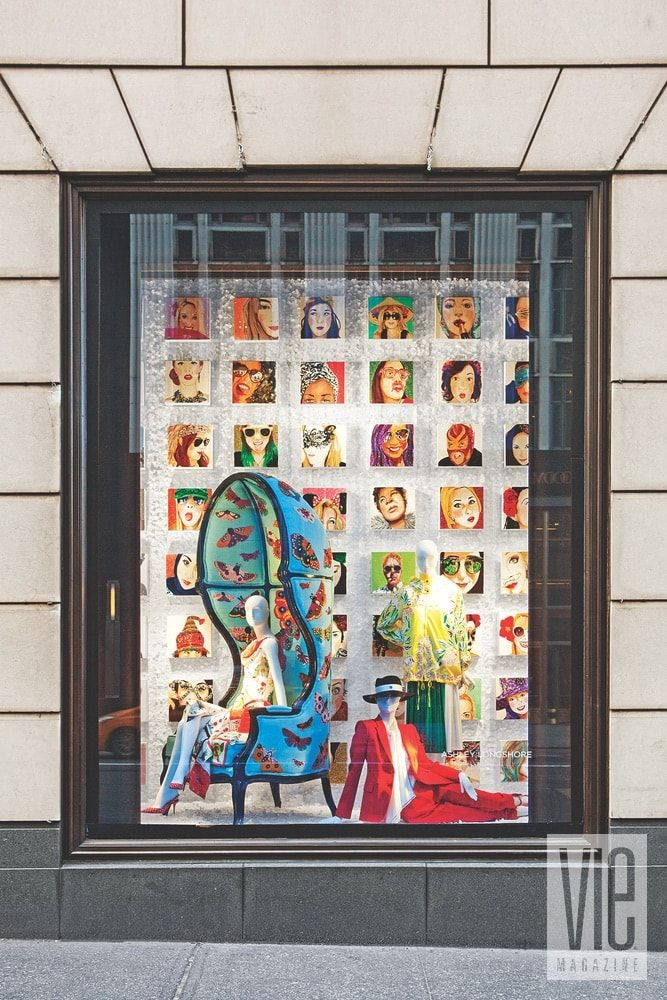 92f6f2e393 Longshore s art filled the iconic Bergdorf Goodman windows on Fifth Avenue  this past January.
