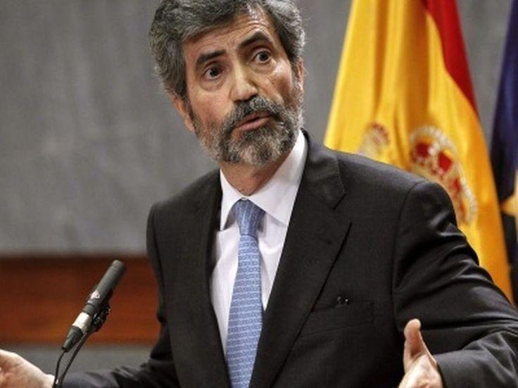 """El presidente del Poder Judicial expresa su """"apoyo"""" a Policía y Guardia Civil"""