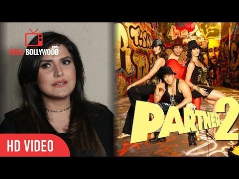 Zareen Khan On Upcoming Movie With Salman Khan | Partner 2 | Aksar 2 Special Screening