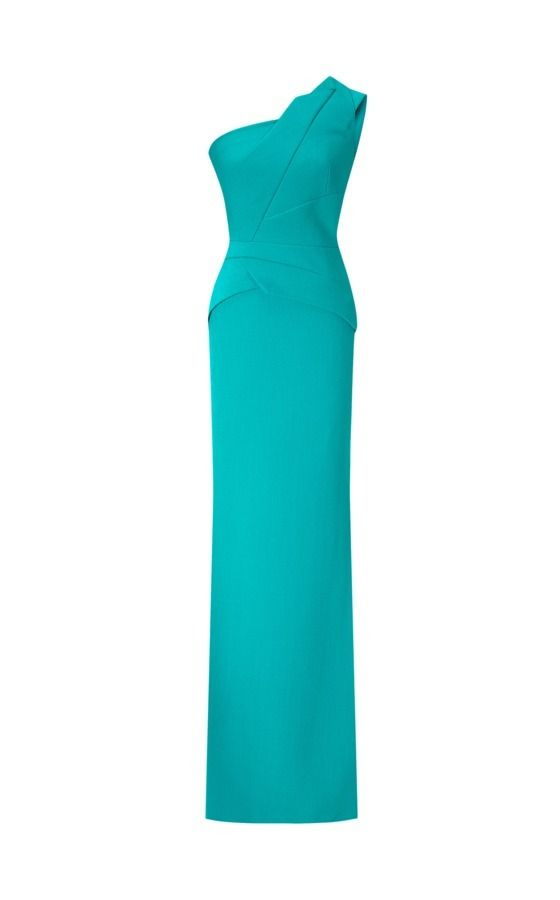 Resort 2016 - The Godfrey gown in sea green by Roland Mouret #rolandmouret https://www.rolandmouret.com/product/resort2016/GODFREY-GOWN/SEA-GREEN