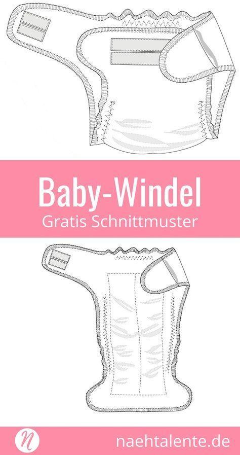 Babywindel nähen | Schnittmuster & Nähen | Pinterest | Nähen, Nähen ...
