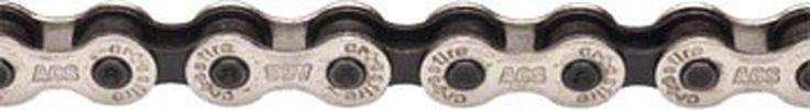 "ACS Crossfire Chain, 1/2"" Silver / Black"