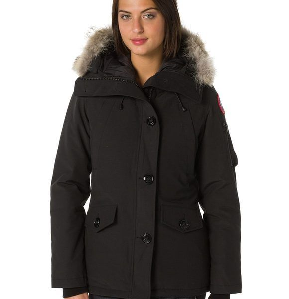 Canada Goose Daunenjacke MONTEBELLO PARKA – Schwarz – Damen. Canada Goose Schweiz Shop, Sanada Goose Jacken Damen, Bis -33%
