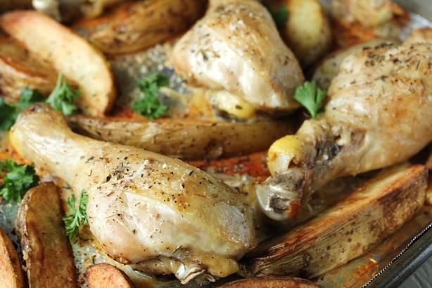 Simple Baked Chicken Drumsticks Recipe - Food.com - 443758