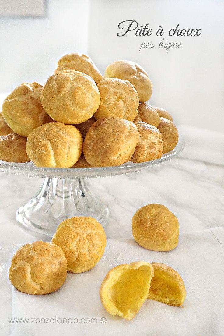 Pâte à choux, impasto per preparare i bignè ricetta - classic puffs recipe | from Zonzolando.com