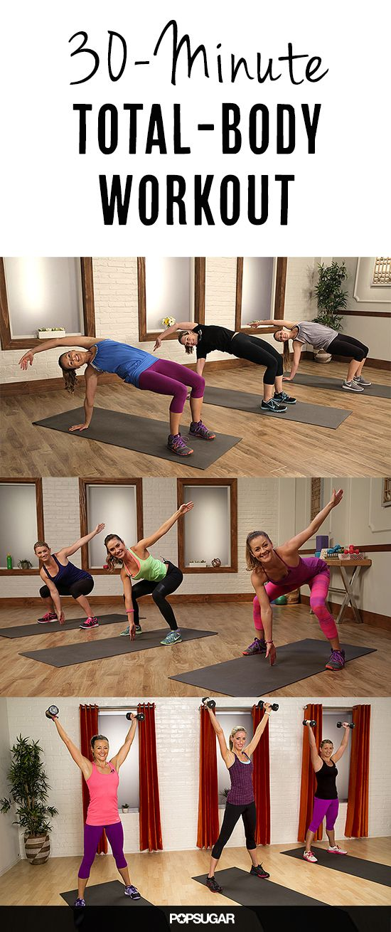 30 Minutes of Total Body Burn, at Your Service