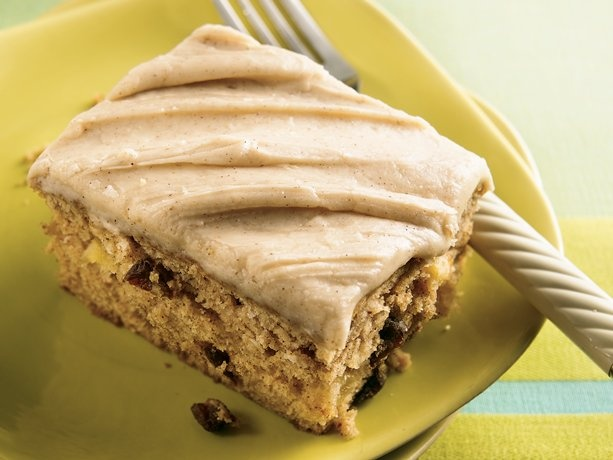 Her Applesauce Spice Cake with penuche icing was to die for! My ...