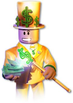 Robux Currency Man