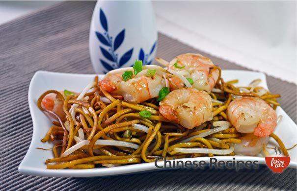 King Prawn Chow Mein Noodles