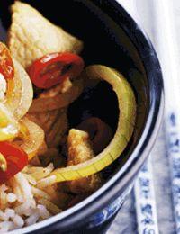 Kinesisk kalv i wok