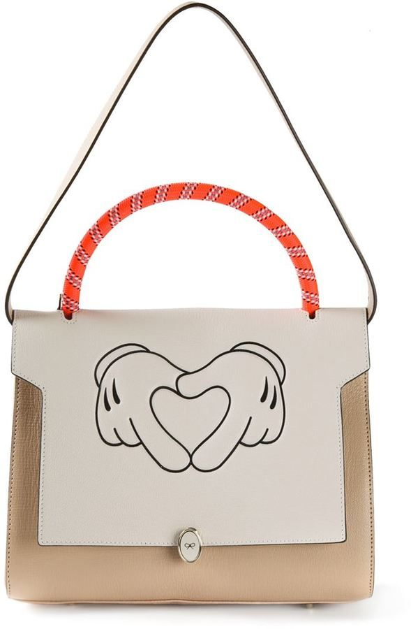 Anya Hindmarch 'Bathurst' satchel http://www.wallsloveart.co.uk