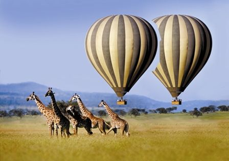 Serengeti National Park Hot Air Balloon Safari