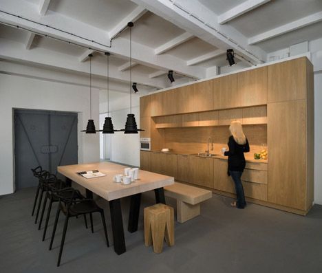 Pride And Glory Interactive by Morpho Studio; This area is their breakroom.