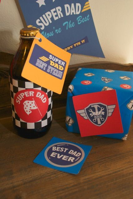 FREE Race Car Father's Day Printables from Creative Little Stars