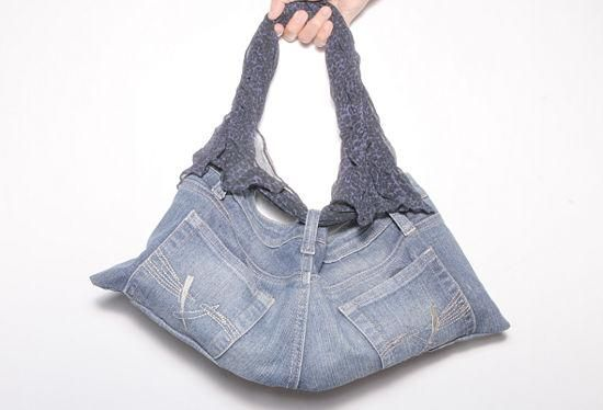 how to make a jean skirt from shorts