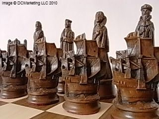 Elizabethan Plain Theme Chess Set  by Mascott - Made in England  King Height: 5 (12.5cm)  Chess Pieces: Heavy weighted plain theme chess pieces in crushed marble and resinPlain Theme, Elizabethan Plain, Chess Sets, Chess Collection, England King, Crushes Marbles, King Heights, Heavy Weights, Chess Piece