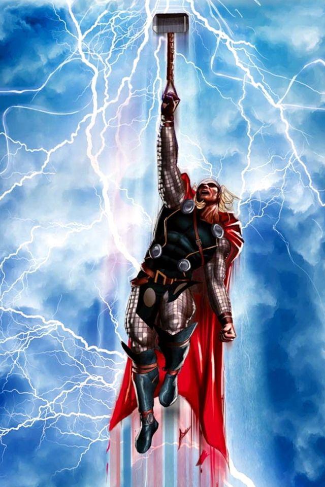 artwork gods lightning marvel - photo #8