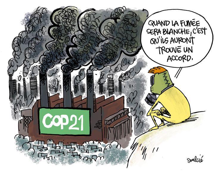 soulci 2015 12 04 fum e noire sur la cop21 environnement pollution climat pinterest. Black Bedroom Furniture Sets. Home Design Ideas