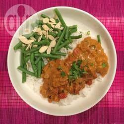 Makkelijke Indiase kip curry