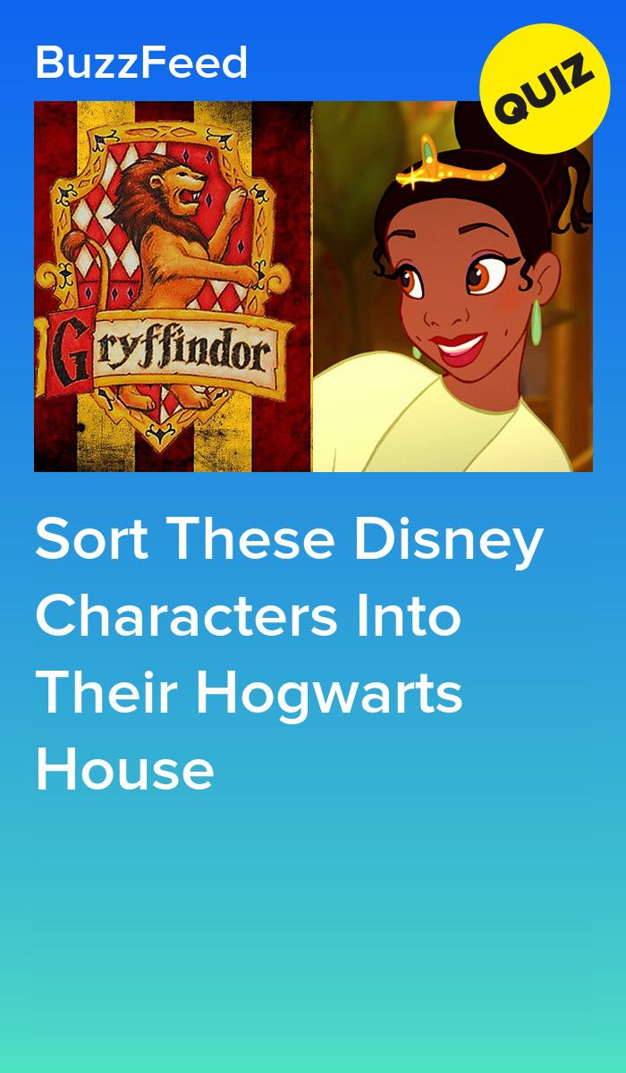 Sort These Disney Characters Into Their Hogwarts House Hogwarts Quiz Disney Hogwarts Hogwarts