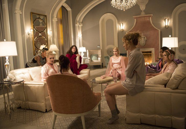 """Pin for Later: Scream Queens: Check Out Pictures From the Final, Freaky Halloween Episode """"Seven Minutes In Hell"""""""