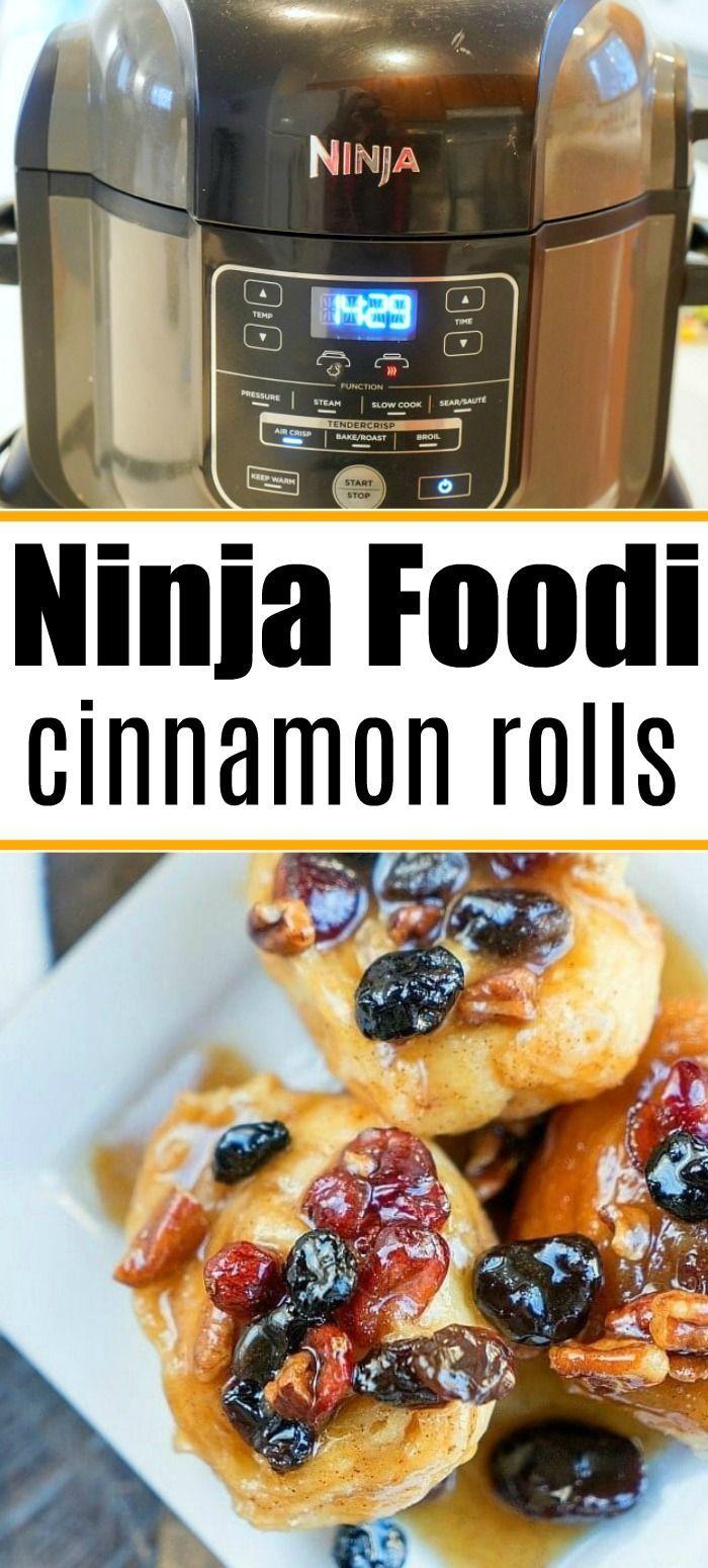 Ninja Foodi Cinnamon Rolls And Sticky Buns Are So Good