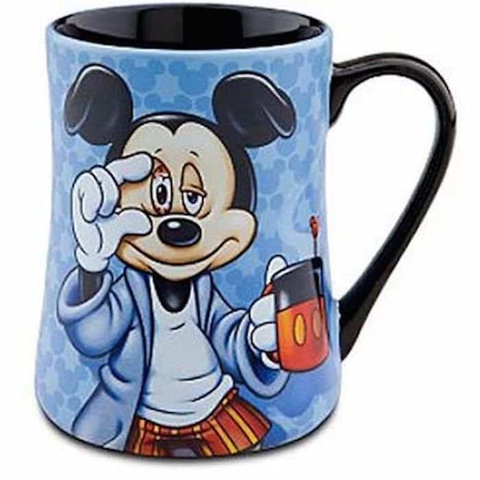Disney Parks Mickey Mouse Some Mornings Are Rough Ceramic Coffee Mug New
